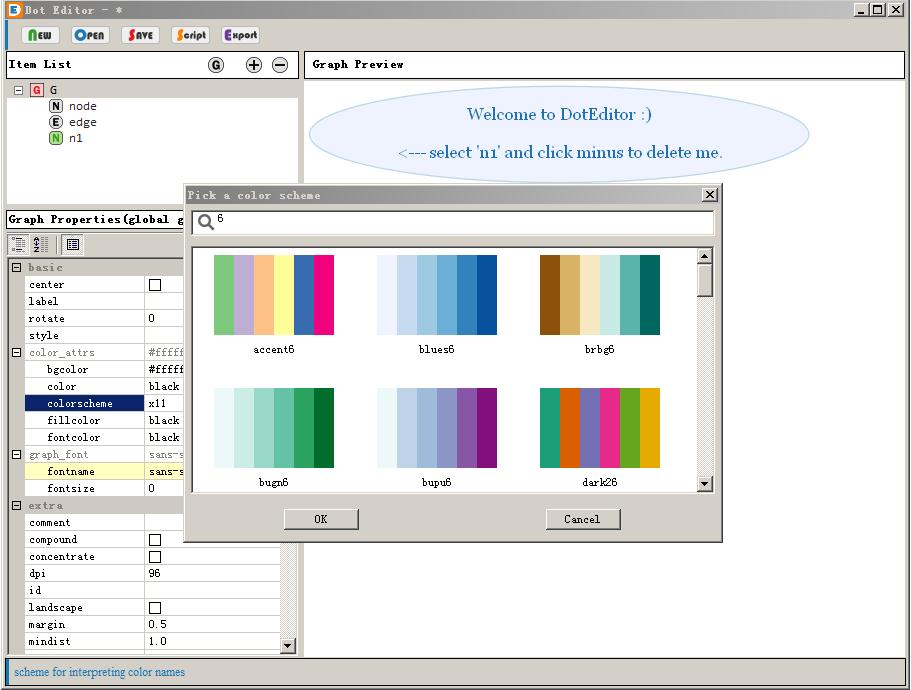 Doteditor color scheme choicer ccuart Gallery